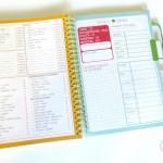 Mon Petit Organisateur de Vie : pages intérieures