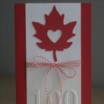 Deux cartes pour le Canada !
