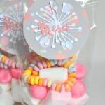 Sur un thème bonbons