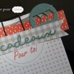 Scrap : carte et étiquette