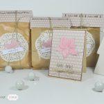 Scrap : Un ensemble cadeau et sa carte assortie
