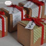 Scrap : Des petites boites cadeaux