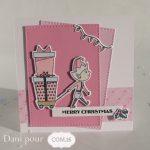 Scrap : Des cartes pour un Noël tendre