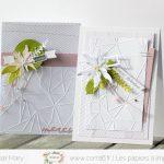 Scrap : Des cartes de remerciements
