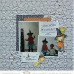 Scrap : Page Une adorable petite sorcière