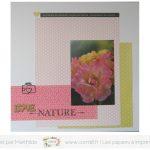 Scrap : Page Love nature