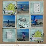Page «Une journée à la plage»